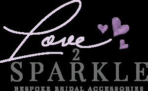 Love 2 Sparkle Heart Logo